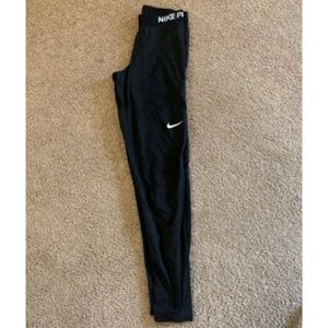 Nike Pro Black Tights  Track Pants Women's Size S
